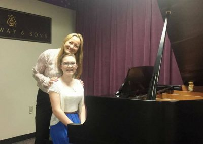 kathy and Trinity recital
