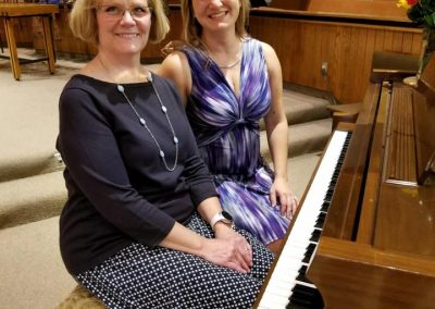 kathy and karen recital